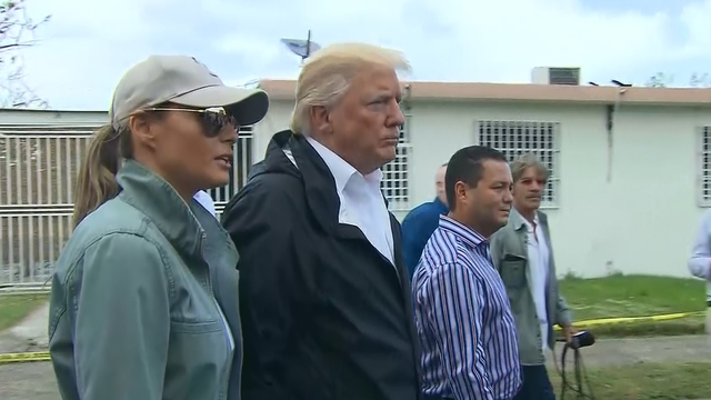 Trump: We Can't Aid Puerto Rico 'Forever'