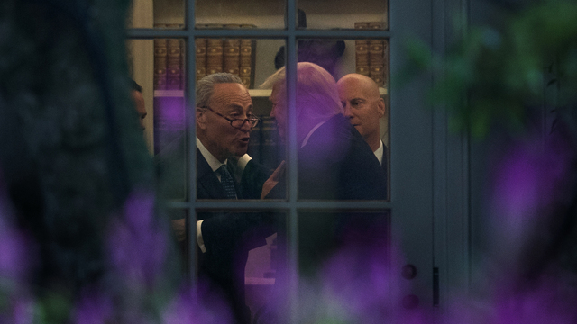 Trump says he called Schumer on health care