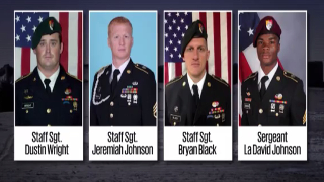 Image result for four soldiers killed in Niger