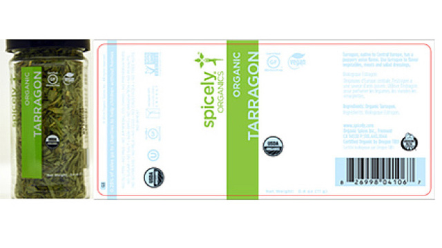 Company Recalling Organic Tarragon After Salmonella Found in Leaves