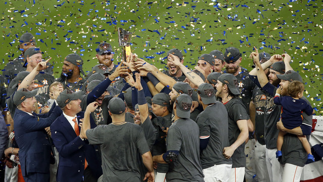 Astros beat Yankees for World Series spot
