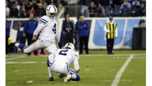 Vinatieri ready to take next step on NFL's scoring list
