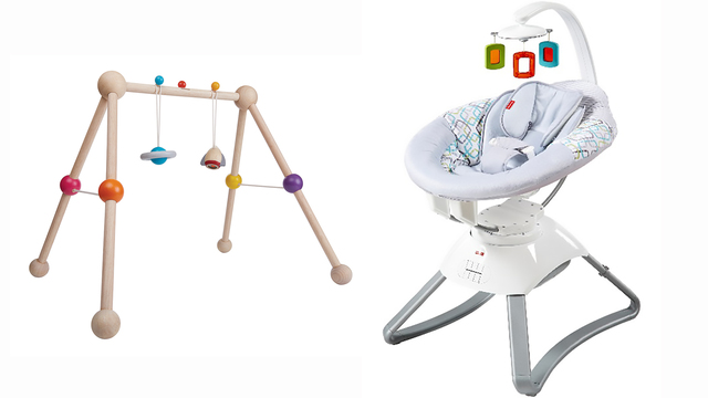 Fisher-Price infant motion seat, PlanToys Baby Gym recalled