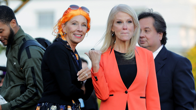 White House Halloween 2017 8 Conway and DeVos.jpg99584021