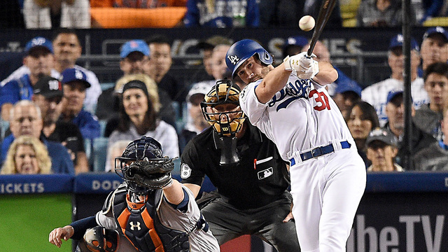 Astros Dodgers Game 6 Culberson12509884