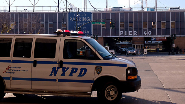 The NYPD officer who shot a terror suspect says he was just doing his job