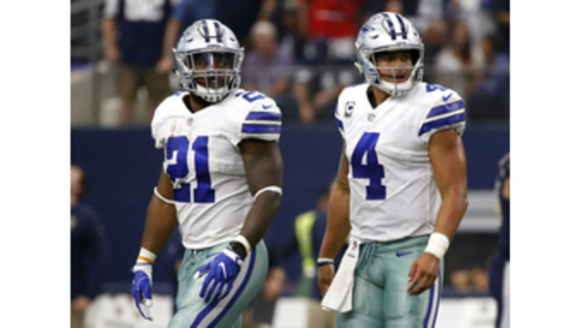 Prescott leads Cowboys into key stretch, but without Elliott