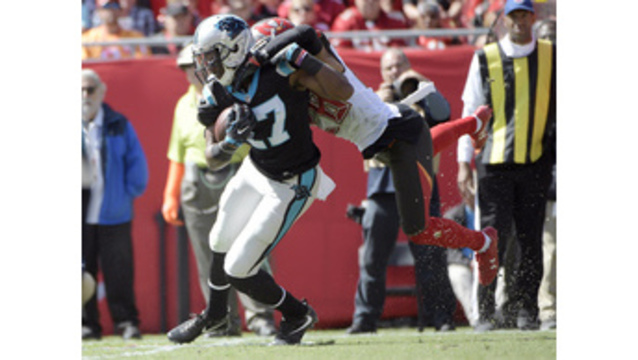 Panthers' Funchess takes promotion to No. 1 WR in stride