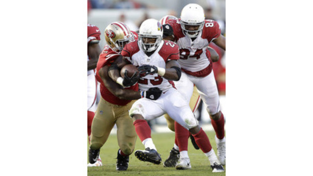 Peterson carries Cardinals to 20-10 victory over 49ers
