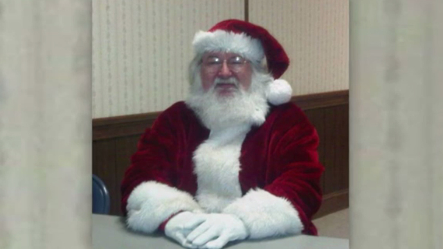 Man dressed as Santa found with crack pipe, drugs