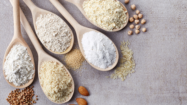 Gluten-free alternatives to wheat flour