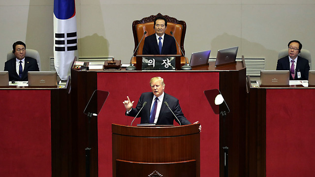 trump at s korean assembly06333604