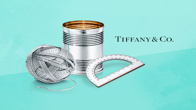 Why Tiffany is selling a $1,000 'tin' can