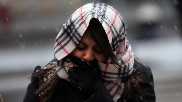 Cold, windy weather to blast Northeast this weekend