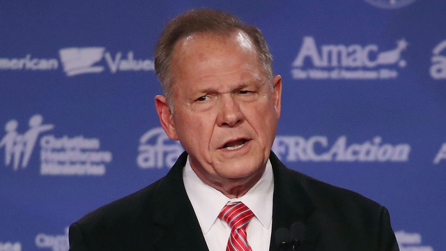 Roy Moore, Values Voter Summit, October 201708527334