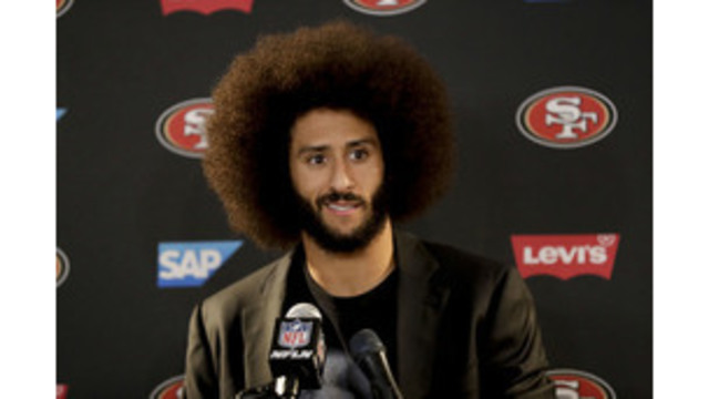 GQ names Kaepernick citizen of the year