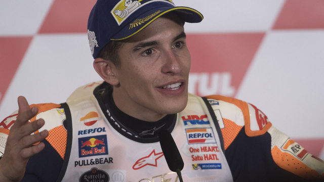 Marquez becomes youngest-ever 4-time MotoGP champ