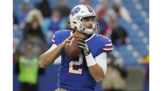 Bills benching Tyrod Taylor in favor of rookie Nathan Peterman