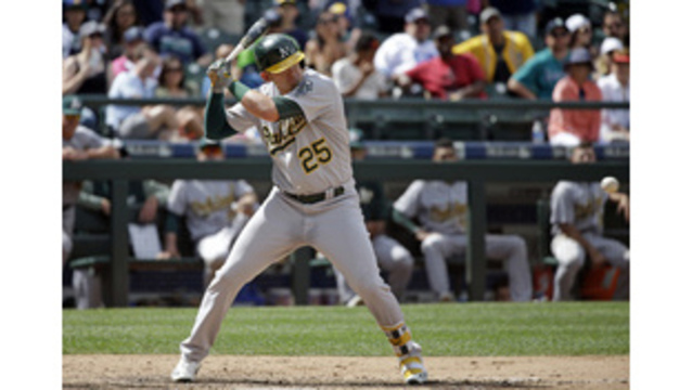 Mariners acquire Ryon Healy in trade with A's