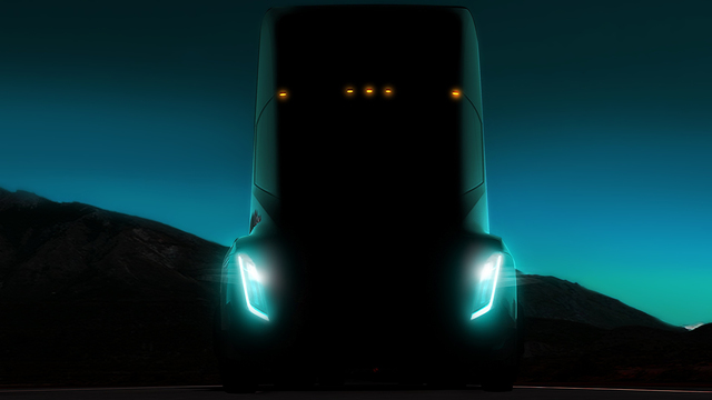 Tesla Unveils Prototype Of Electric Big Rig Truck