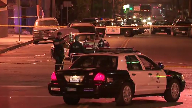 LA County sheriff's auto crash kills two children on sidewalk