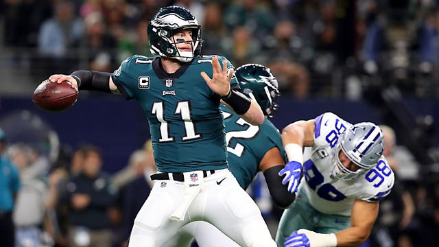 Eagles embarrass Cowboys on national television, 37-9