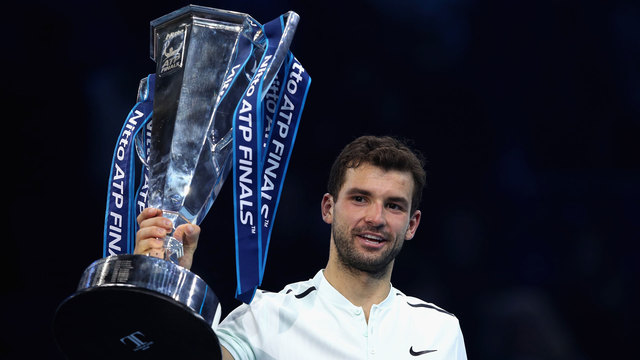 Dimitrov beats Goffin to reach last four at ATP Finals