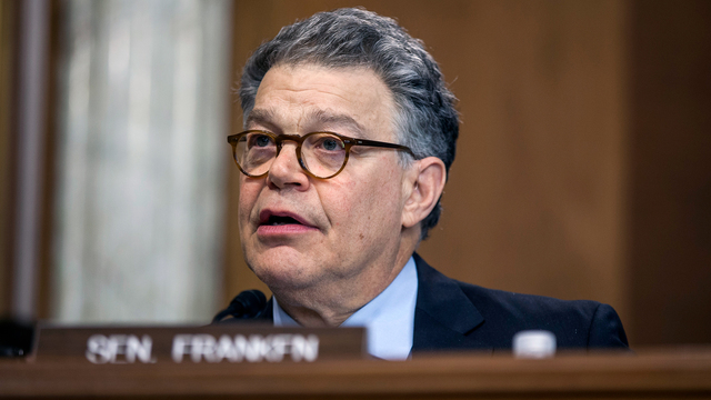 Woman says Franken inappropriately touched her in 2010