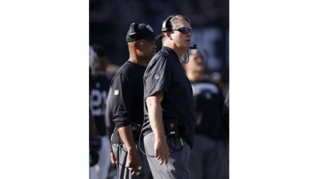 Oakland Raiders defensive coordinator Ken Norton relieved