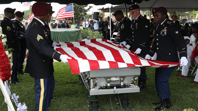 Additional remains of Sgt. La David Johnson recovered from Niger
