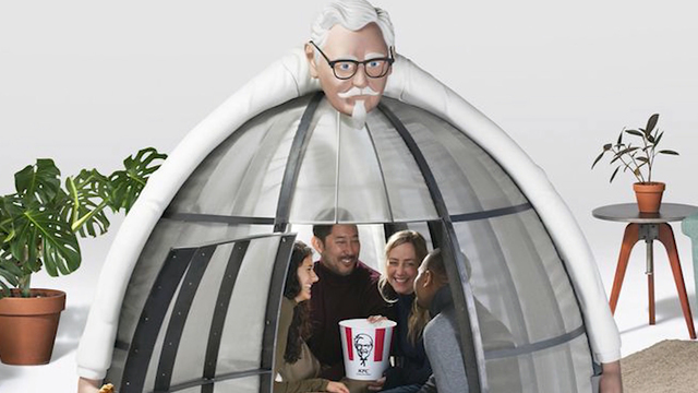 KFC wants you to buy a $10k 'Internet Escape Pod'