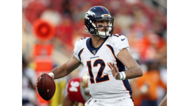 Paxton Lynch to be named Broncos starting quarterback