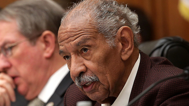 Democrat John Conyers announces he is stepping down as member of Judiciary Committee