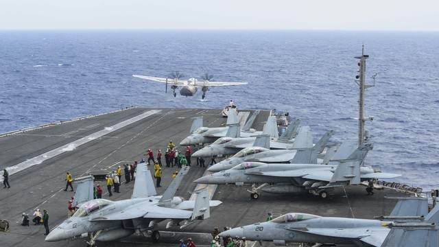 Massive search expands for U.S. sailors after Philippine Sea air crash