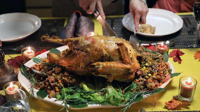 Where Thanksgiving calories hide -- and how to burn them off