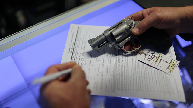 Sessions orders review of background check system for guns