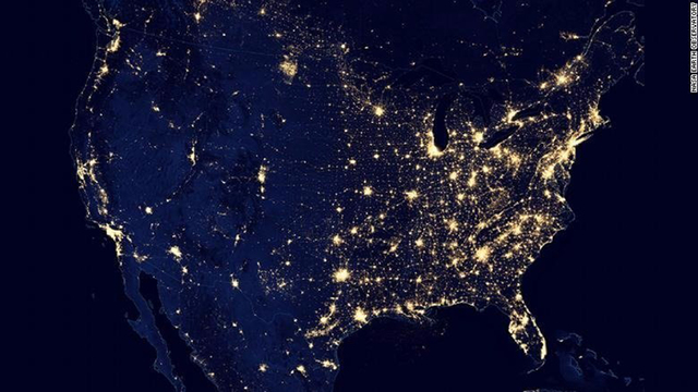 Rise in energy-saving LED lighting has increased light pollution