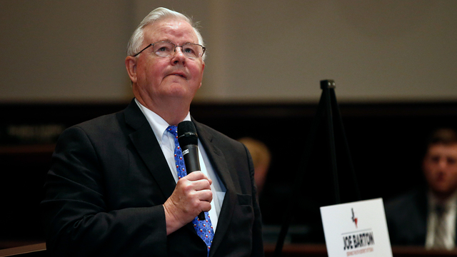 Texas Congressman Joe Barton Apologizes After Tweeted Nude Photo Goes Viral