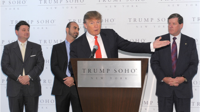 Trump Organization backing out of Trump SoHo hotel