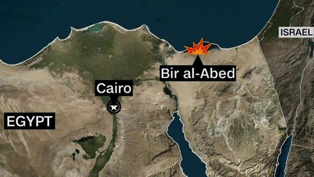 More that 50 dead in Sinai Bombing, shooting attack