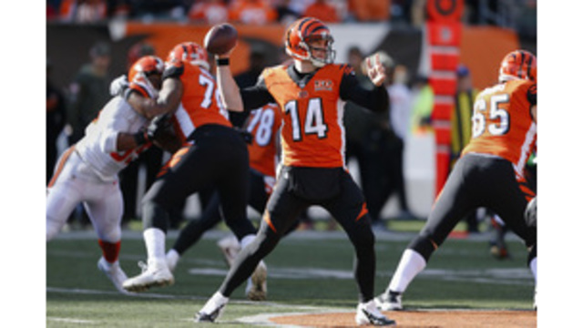 Thumped again! Mixon, Bengals drub winless Browns 30-16