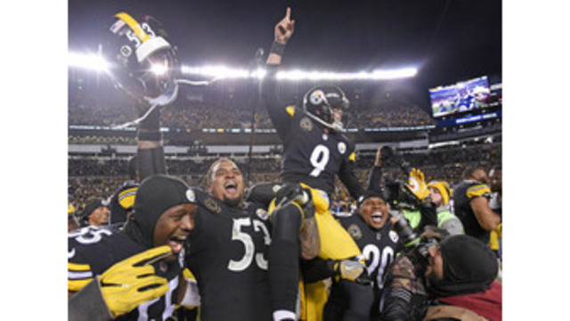 Steelers, Brown hold off Packers 31-28