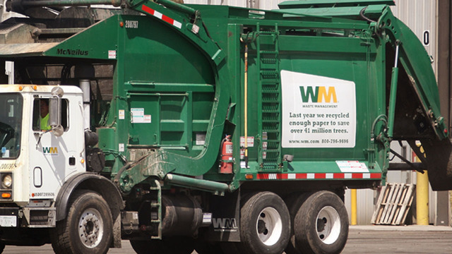 Man hides from authorities in dumpster, gets trapped in garbage truck