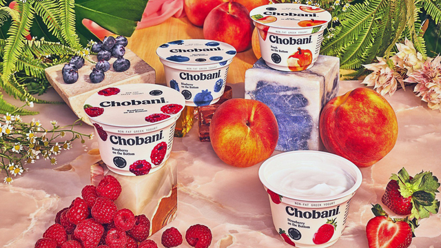 Chobani's yogurt is getting a new look