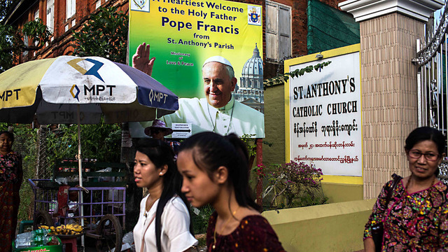 Pope holds historic Mass in mainly Buddhist Myanmar