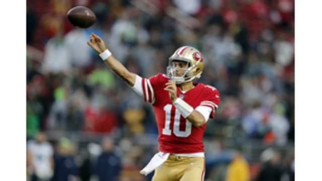 Garoppolo focused on 1st start for Niners instead of future