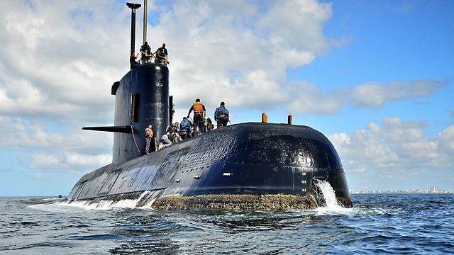 Hope fades for 44 crew as search for missing Argentina submarine continues