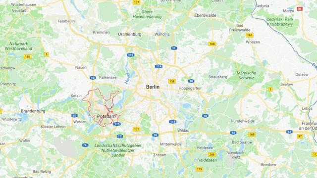 Police find nail bomb at Christmas market in Germany's Potsdam