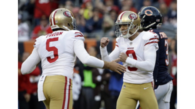Gould kicks FG lifts Garoppolo, 49ers over Bears 15-14