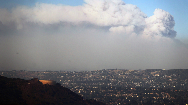 California wildfires prompt TV production shutdowns